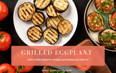 Primo Grilled Eggplant