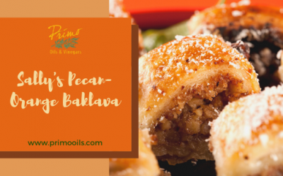 Sally's Pecan-Orange Baklava