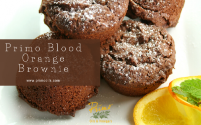 Blood Orange Brownie