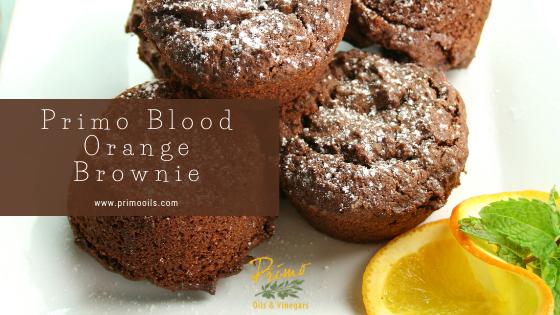 Blood Orange Brownie