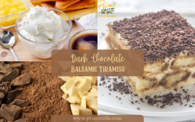 Dark Chocolate Balsamic Tiramisu