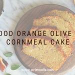 Primo blood orange olive oil