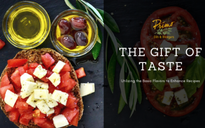 The Gift of Taste: Utilizing the Basic Flavors to Enhance Recipes