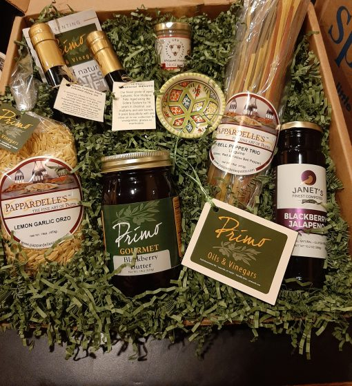 The Primo Experience Gift Box $90 - Primo Oils and Vinegars