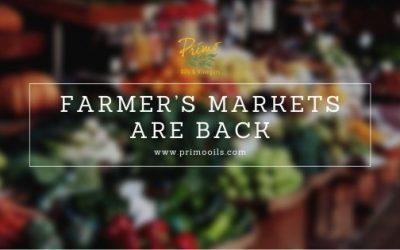 Farmer's Markets Are Back